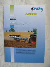 0385) RABE Kormoran - Aufsattel-Drehpflug - Prospekt Brochure 02.2000