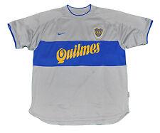 Boca Junior Jersey shirt Nike L 2000 3rd model Gray