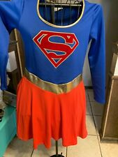 Superman Superwoman Dress. Adult Large
