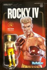 Rocky IV Ivan Drago ReAction Figure Slightly Damaged Packaging.