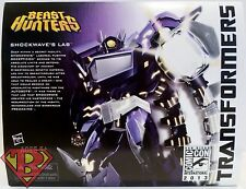 SHOCKWAVE'S LAB Transformers Beast Hunters Hasbro SDCC Comic Con Exclusive 2013