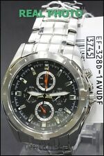EF-328D-1A Black Genuine New Casio Watch Edifice Month Date Day 24-Hour