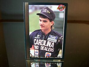 Jeff Gordon #1 Carolina Ford Dealers Rookie Maxx Race Cards Black 1992 Card #50