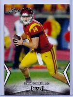 "SAM DARNOLD 2018 LEAF DRAFT ""1ST EVER PRINTED"" ROOKIE CARD #54! USC TROJANS!"