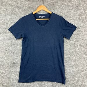 French Connection Mens T-Shirt Size XS Blue Short Sleeve Round Neck 2.07