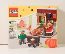 LEGO EXCLUSIVE Turkey Dinner THANKSGIVING FEAST 40123 Pie New SEALED