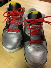 Jordan Men's Shoes Ace 23 Basketball Metallic Silver Black Red 551765-003 Sz 9.5