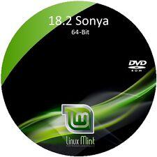 "Linux Mint 18.2 LTS ""SONYA"" - Install/Live DVD (32-Bit, 64-Bit) 2-DVD Set"