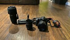 Canon EOS 60D 18.0MP Digital SLR Camera With Lenses and Battery Grip