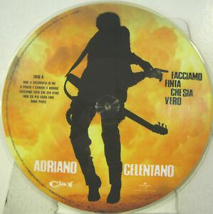 ADRIANO CELENTANO FACCIAMO FINTA CHE SIA VERO RARO PICTURE DISC !!!!