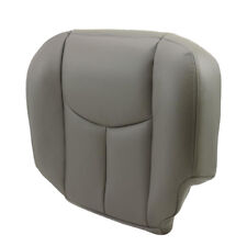 2003 2004 2005 2006 Chevy Tahoe Suburban Driver Bottom Seat Cover Gray