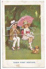 Vintage Comic Seaside Postcard, #a36