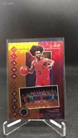 NBA Hoops Premium Stock Coby White Orange Hanger Prizm Class of 2019 SSP Bulls