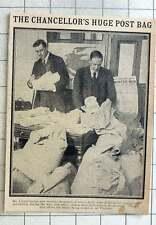 1915 Lloyd George Receives Huge Postbag Urging Total Prohibition