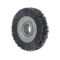 "3"" Nylon Abrasive Wire Polishing Wheel Brush Bench Grinder for Metal 5/8"" Hole"