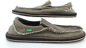Sanuk Men's  Chiba Slip On Sidewalk Surfers Shoe Sandal Hybrid Sz 13
