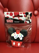 Disney Mickey Mouse Magnet: Mickey Cupcake (AAA)