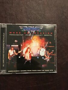 Van Halen CD - More UK Invasion - 2 CDs, 4 Live Shows from 1978 Tour