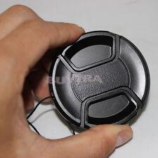 58mm Center Snap Button sur la couverture de Sony Canon Nikon Lens Filter 9H