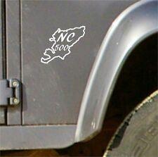 North Coast 500 NC500 Route Vinyl Sticker Decal Scotland Travel Road Trip