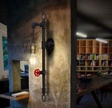 LUCE Parete Industriale Steampunk Retro Vintage E27 lampada tubo illuminazione casa moderna