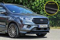 Spoilerschwert Frontspoiler ABS für Ford Kuga DM2 Facelift mit ABE Carbon Optik