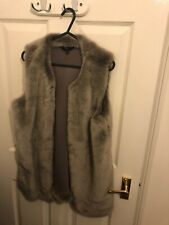 Ladies Next Gillet Faux Fur Size 12