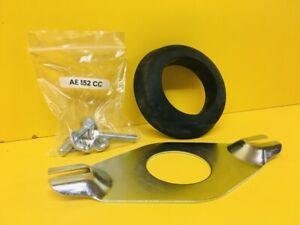 WC Close Coupling Kit Toilet Bracket - Cistern Fixing Doughnut Metal Screws