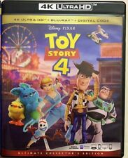 DISNEY PIXAR TOY STORY 4 4K ULTRA HD BLU RAY 3 DISC SET FREE WORLD WIDE SHIPPING