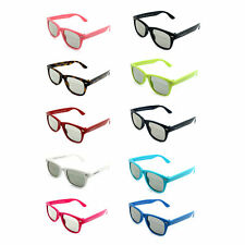 3D Glasses Adult or Kid Size Rainbow Colors Horn Rimmed Frame RealD Compatible