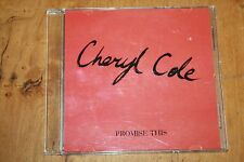 Cheryl Cole / Europe promoCD / Promise This 3.24 / Polydor
