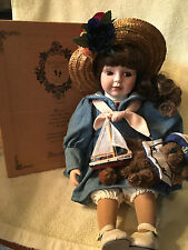 "BOYDS YESTERDAYS' CHILD DOLL COLLECTION "" BETSY SAIL AWAY "" NEW #4904"