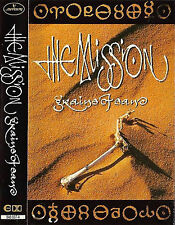 The Mission ‎Grains Of Sand CASSETTE ALBUM Goth Rock Mercury ‎846 937-4 12 track