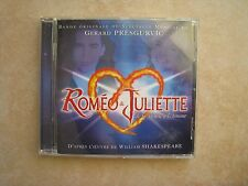 43917//ROMEO & JULIETTE CD ORIGINALE COMEDIE MUSICALE EN TBE