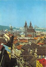 B29019 Praha A view from the Powder Tower in to Celentna Street  czech republic