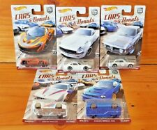 HOT WHEELS 2017 CAR CULTURE CARS & DONUTS SERIES Set of 5 from the case (A+/A+)