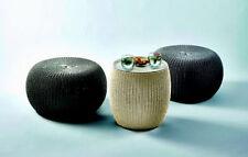 Garten-Lounge-Sets aus Polyrattan mit 3 Teilen