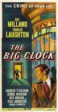 Reloj grande la película de 01 A3 cartel impresión