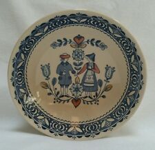 Johnson Bros Hearts and Flowers Soup Bowl Staffordshire Old Granite Ironstone