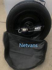"""SET RESERVEWIEL 17"""" voor VW GOLF 5 6 7 <150KW met jack sleutel en tas"""