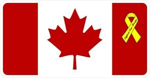 Support Our Canadian Troops  Decal / Sticker