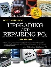 UPGRADING AND REPAIRING PCS (16TH EDITION) By Scott Mueller - Hardcover **NEW**