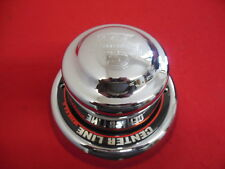 "Center Line  Wheel Center Cap Chrome 9""  Outside Diameter x 5 3/8"" deep NEW"