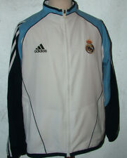 Retro Adidas Real Madrid Tracksuit Top Size 42/44  48inch Chest