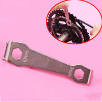 Bicycle Bike Crankset Bolt Fixed Wrench Repair Tool Chain Wheel Spanner CO
