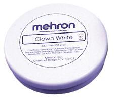 MEHRON  2 OZ CLOWN WHITE CREAM MAKEUP COSTUME DD04