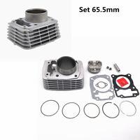 Set 65.5mm Piston Gasket Cylinder kit Fit for Honda XR150 CBF150 engine 200cc Up