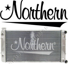 Northern 205183 55-57 Chevy Bel Air Custom Aluminum Radiator for LS1 Engine Swap