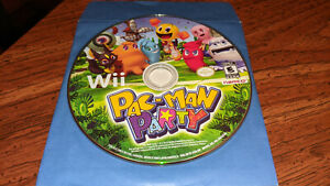 Pac-Man Party (Nintendo Wii, 2010) - DISC ONLY
