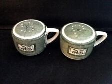 "Retro 1950s Royal China ""Colonial Homestead"" Salt & Pepper Shakers"